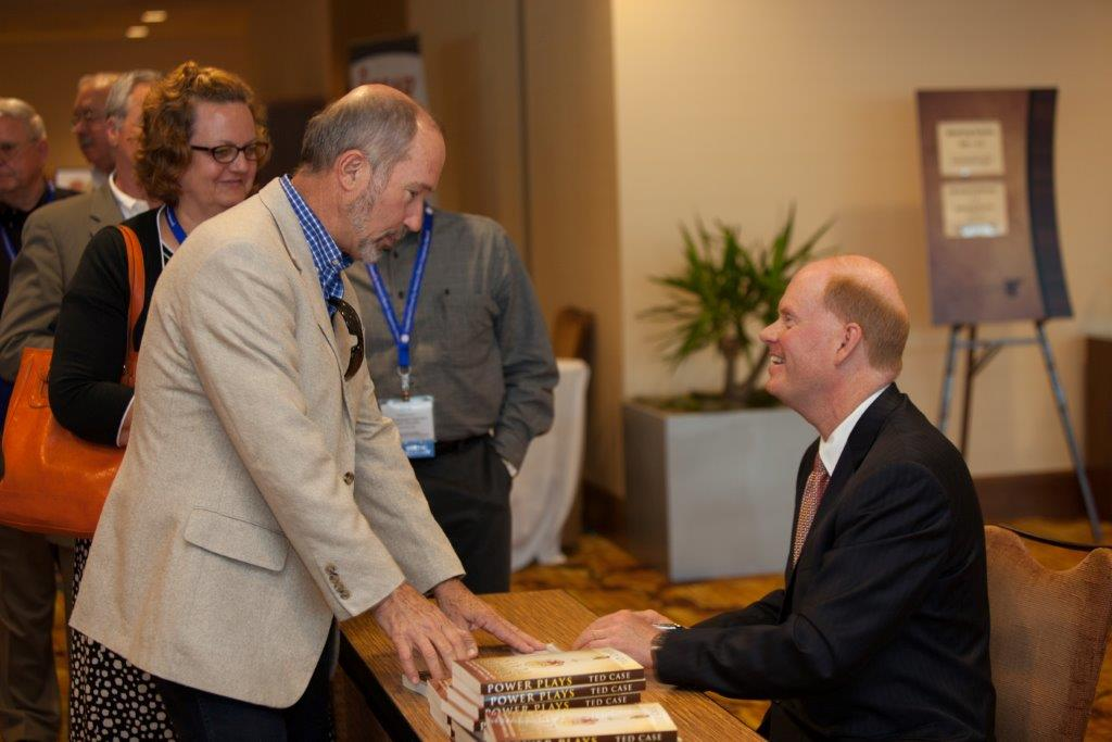 Book signing at CFC Annual Meeting in Indianapolis, Indiana